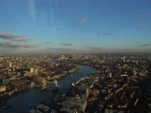 views over London